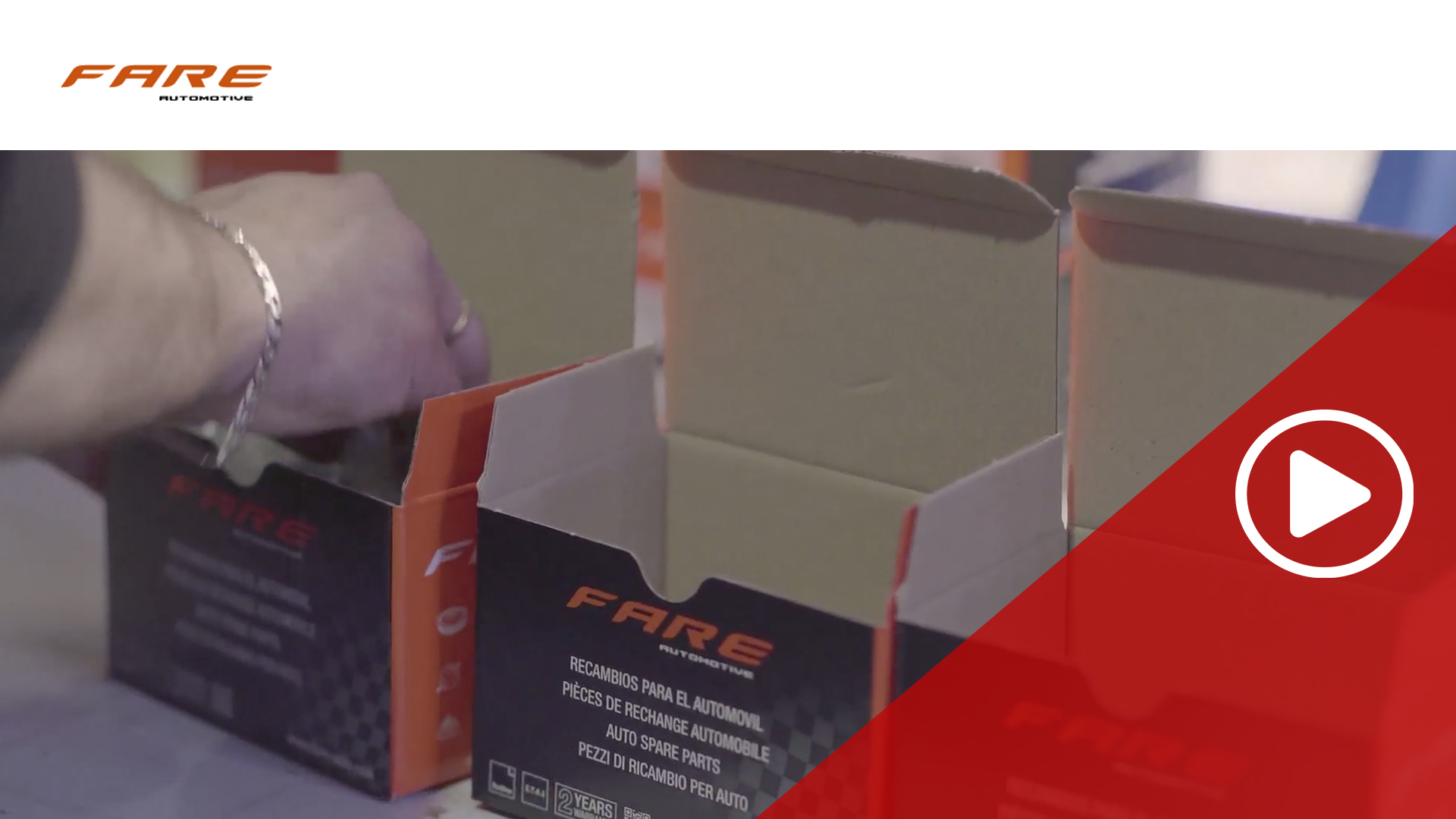 FARE, leading company in the manufacture of rubber and rubber-metal spare parts
